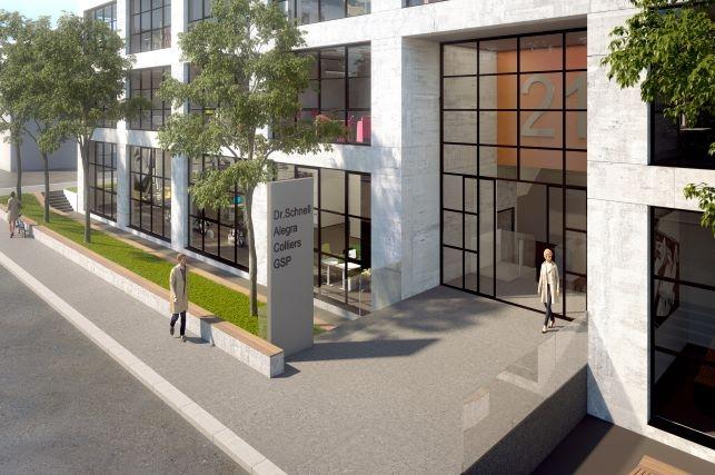 """T21 - Büro- und Gewerbegebäude """"Neue Siederei"""" Taunusstraße 21 - 23 München"""
